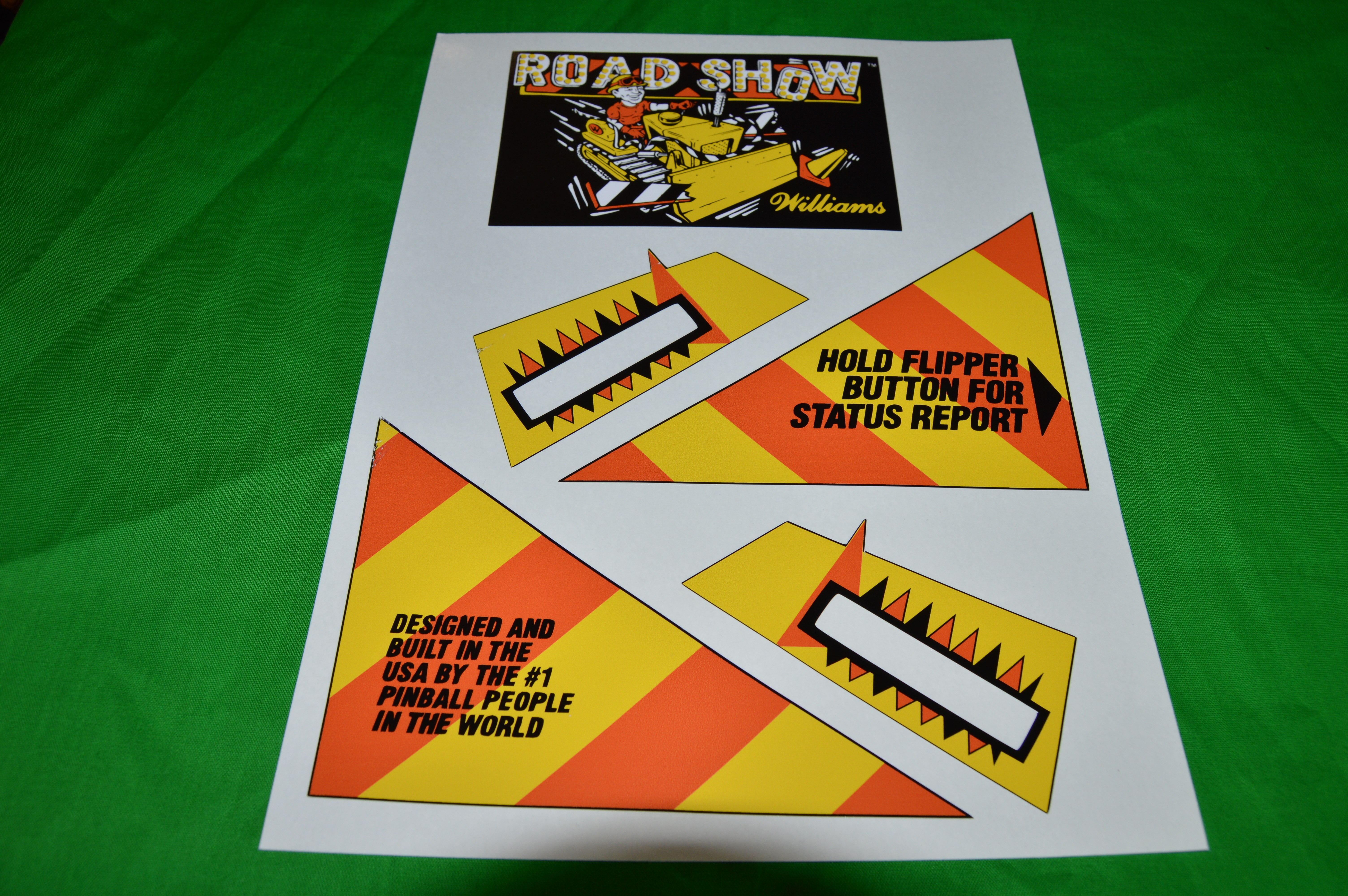 roadshow apron