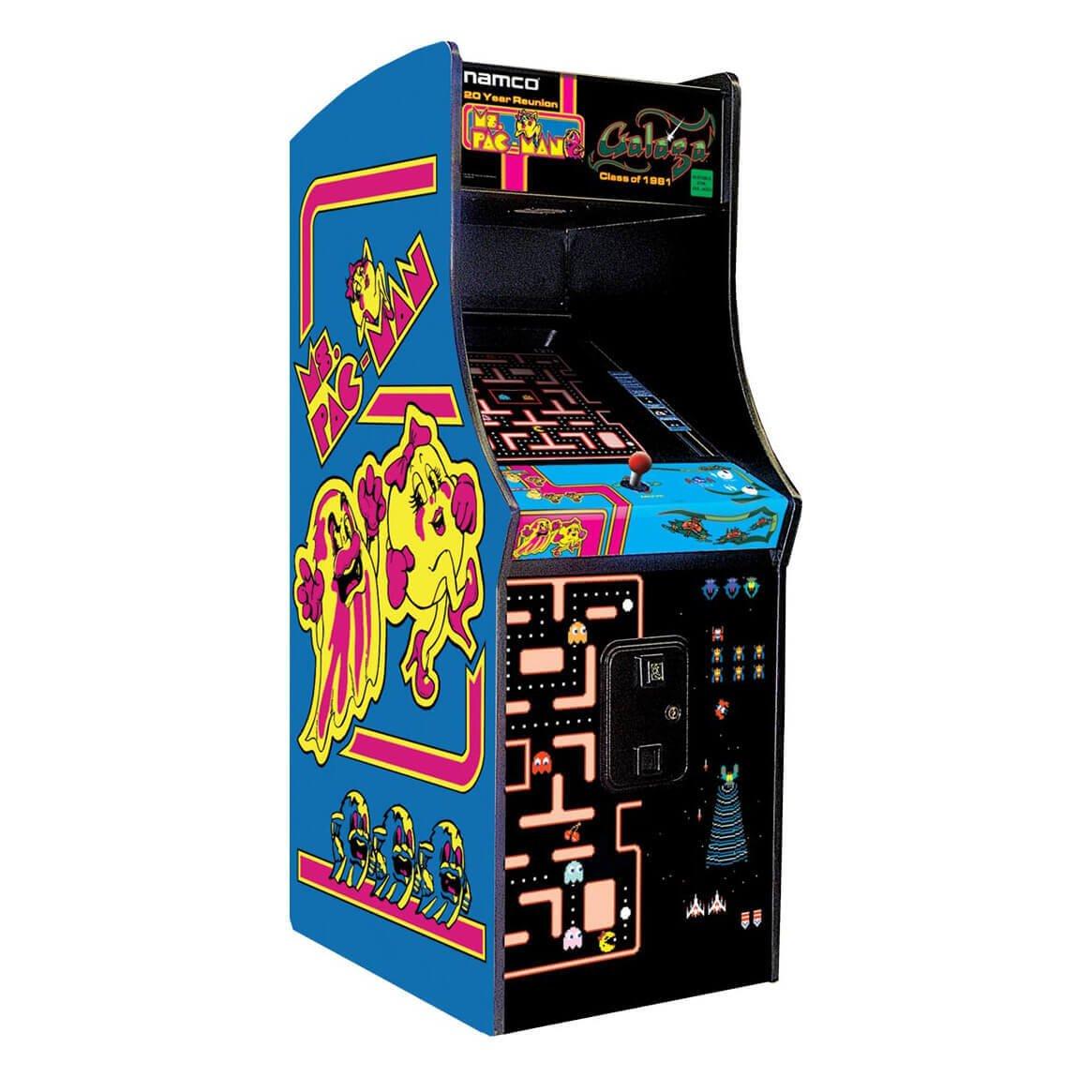 Pac Man Machine >> Ms Pac Man Galaga 60 Games Total