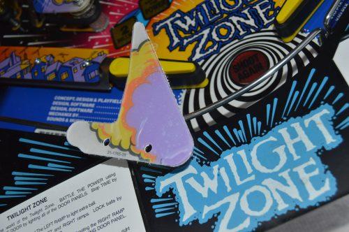 Twilight Zone Rocket Plastic
