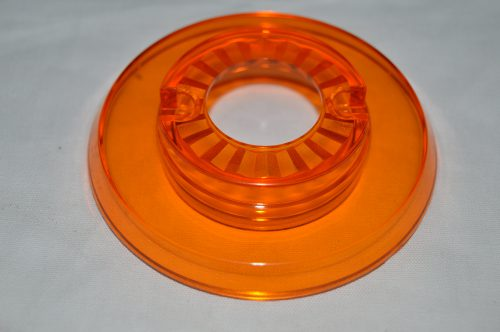 Pop Bumper Cap with Hole, Orange 03-9266-12