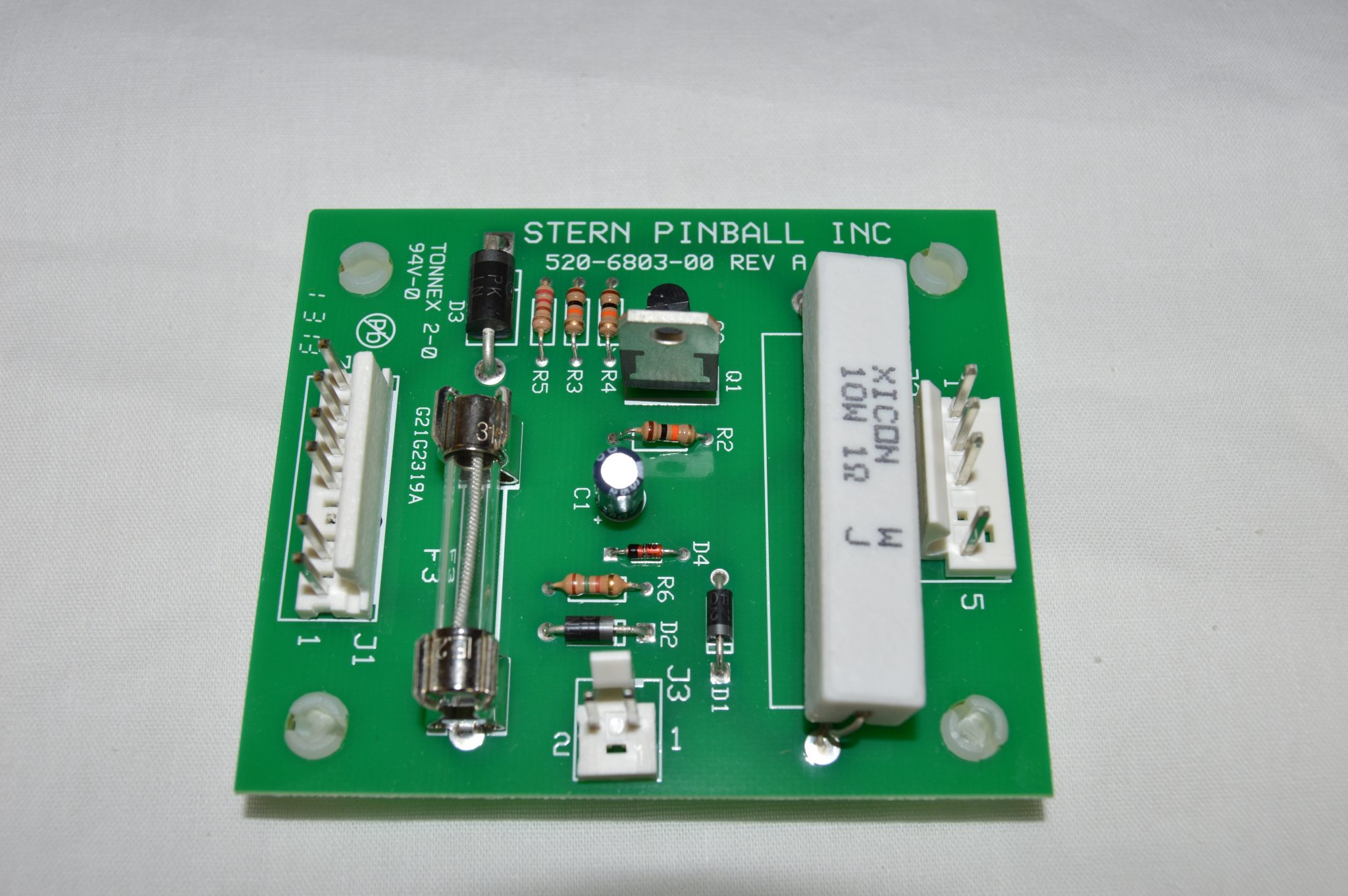 Shaker Motor Board Data East, Sega, Stern Ver. 2 520-6803-00