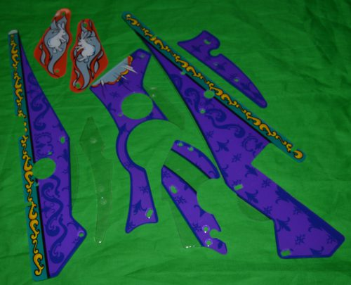 Theatre of magic Partial Plastic set