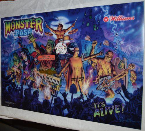 Monster Bash Translite