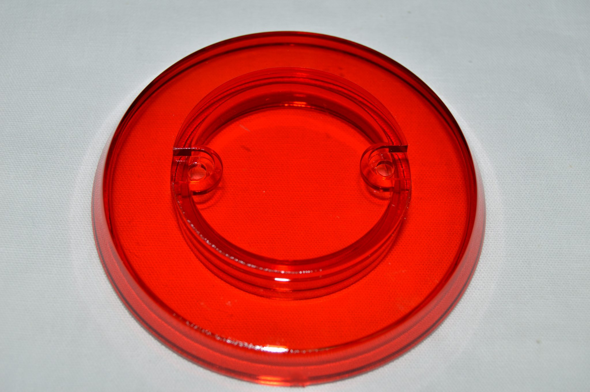 Red Transparent Pop Bumper Cap 03-8254-9