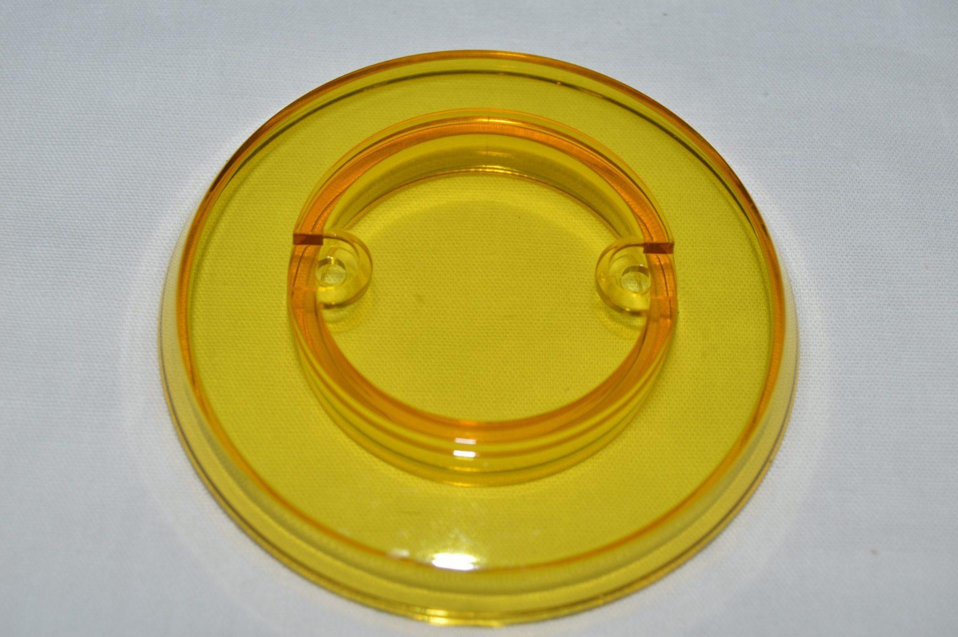 Yellow Transparent Pop Bumper Cap 03-8254-16