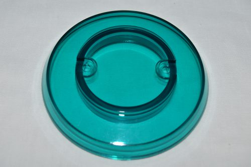Teal Transparent Pop Bumper Cap 03-8254-25
