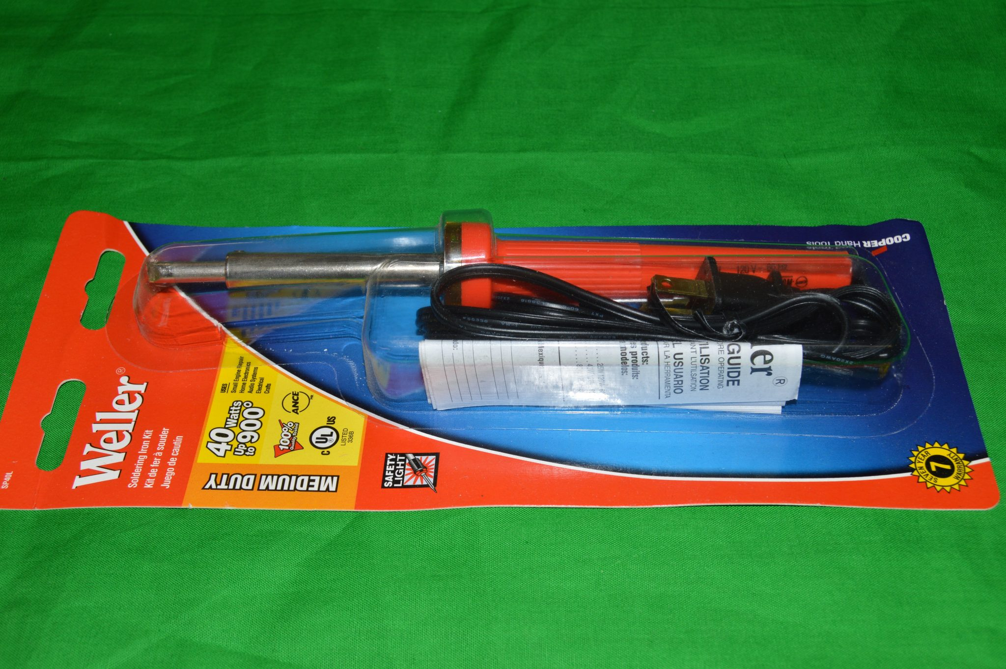 Weller 40 watt Soldering Iron