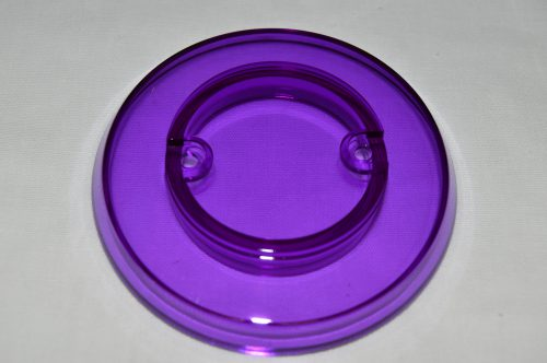 Purple Transparent Pop Bumper Cap 03-8254-18