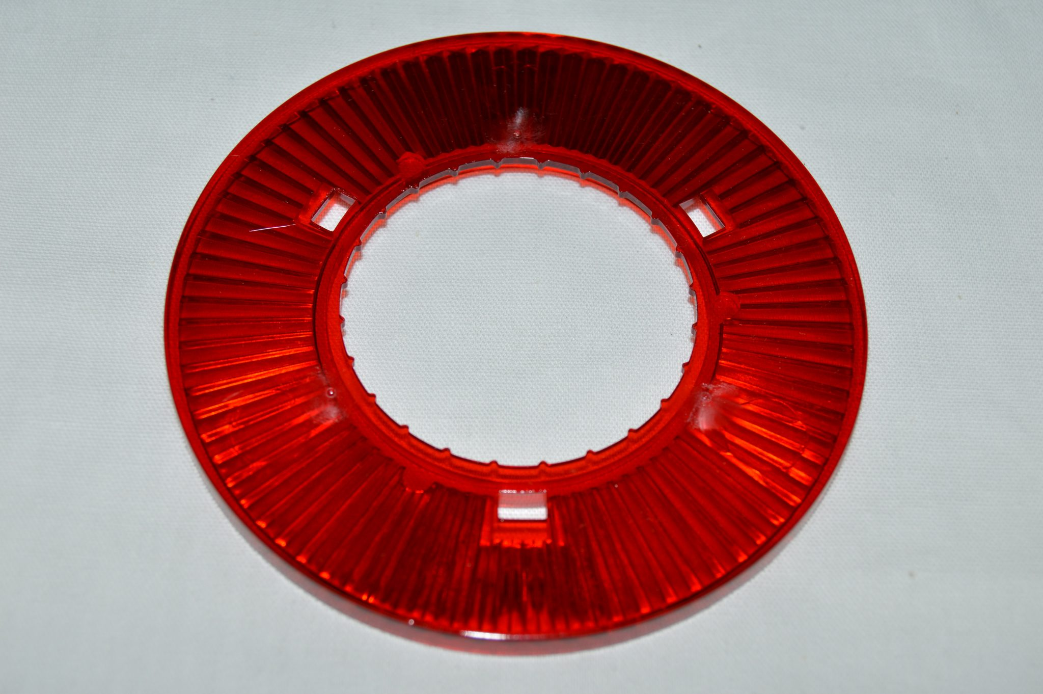 Red Transparent Pop Bumper Collar 03-8276-9