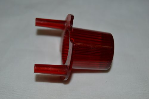 Red Dome with Pegs 03-9267-9