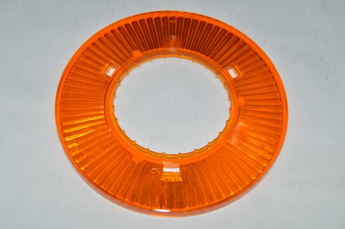 Orange Transparent Pop Bumper Collar 03-8276-12