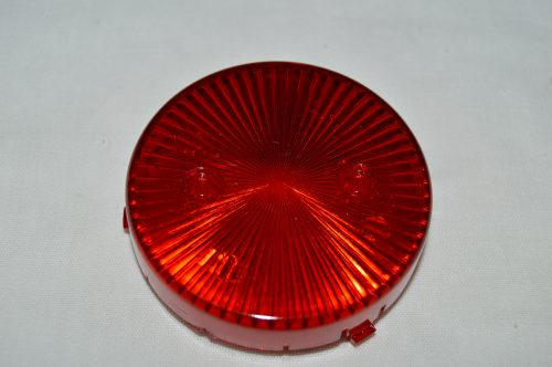 Red Transparent Pop Bumper Cap 03-8277-9