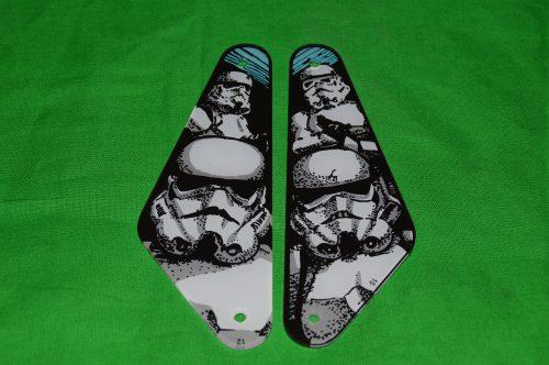 Data East Star Wars Sling Shot Plastic Set NOS