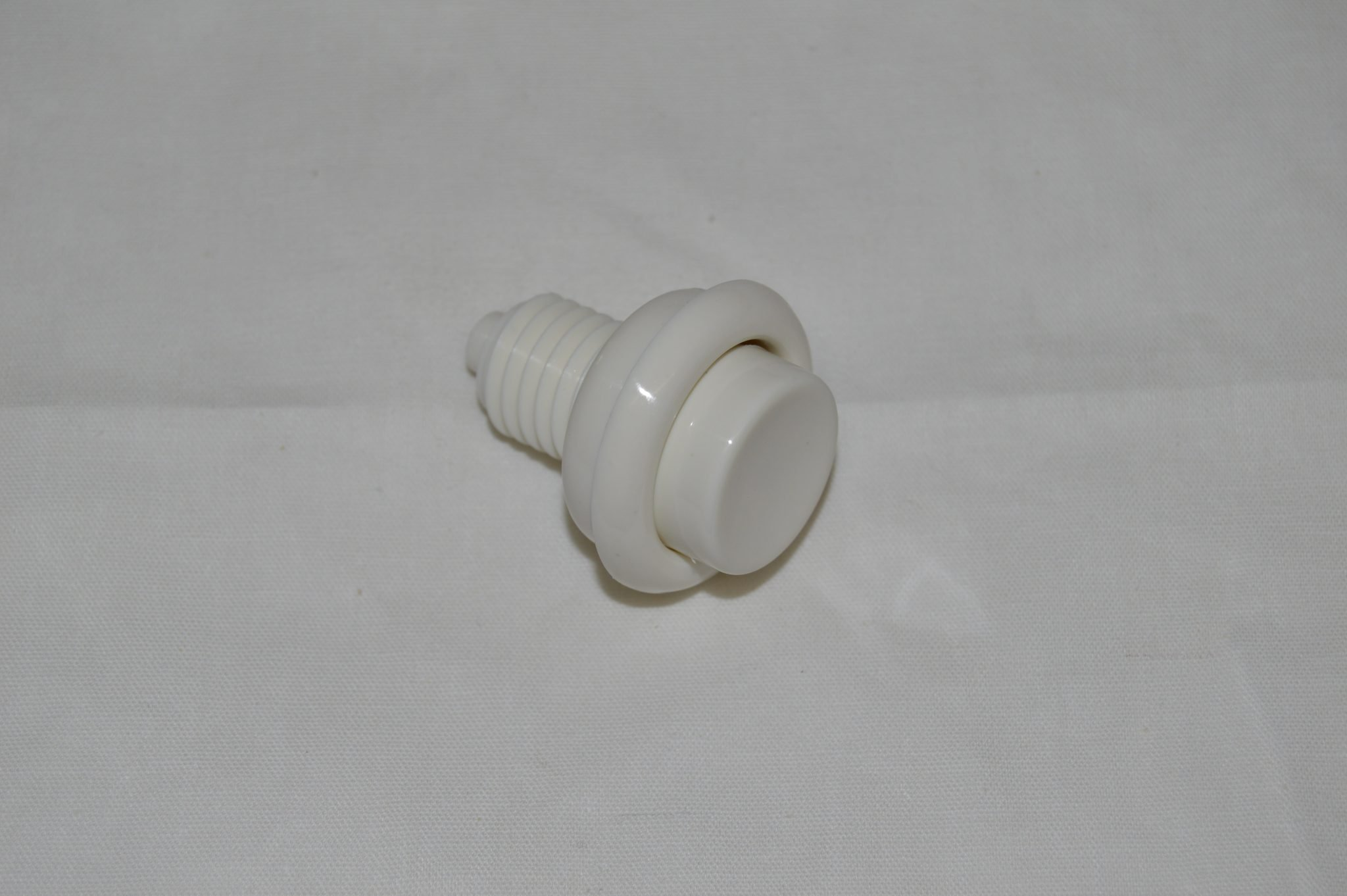 White Flipper Button A-16883-5
