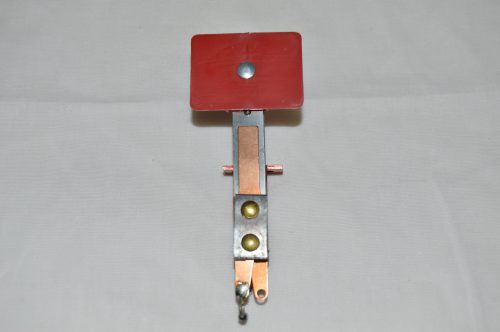 Red Rectangular Target with Rear Mount A-17226-4