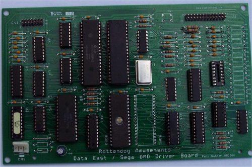 Data East, Sega & Stern Pinball DMD Controller DMD004