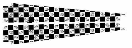 Indianapolis 500 Sideboard Decal Set