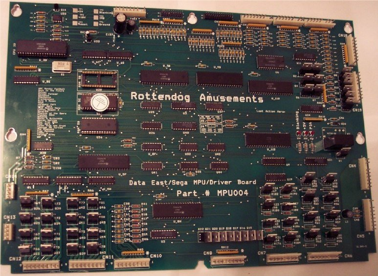 Data East/Sega MPU Board MPU004