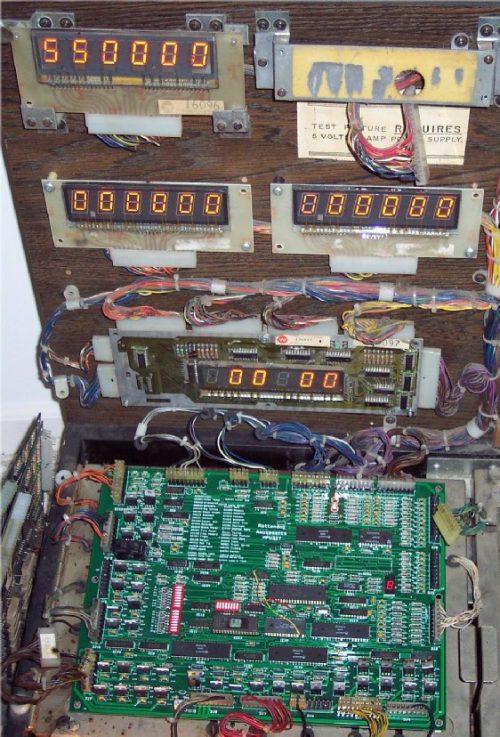 Williams System 3,4,6 &7 MPU & Driver Board MPU 327