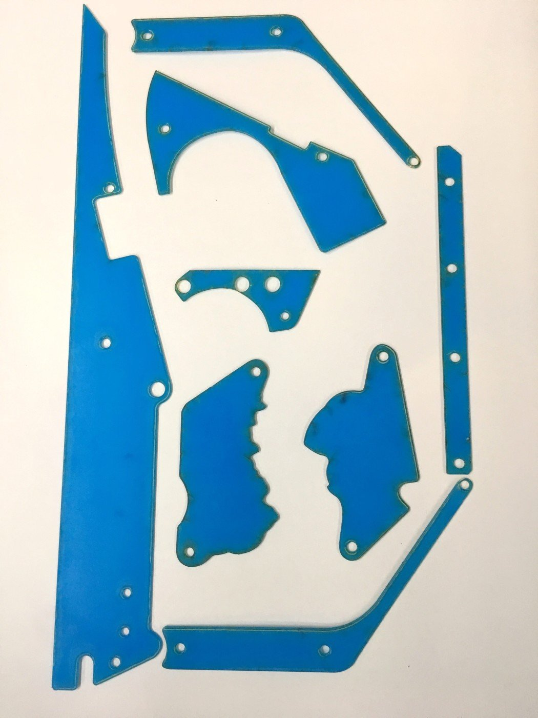 Deadpool Stern Pinball Machine - Clear 8 Piece Plastic Protector Set