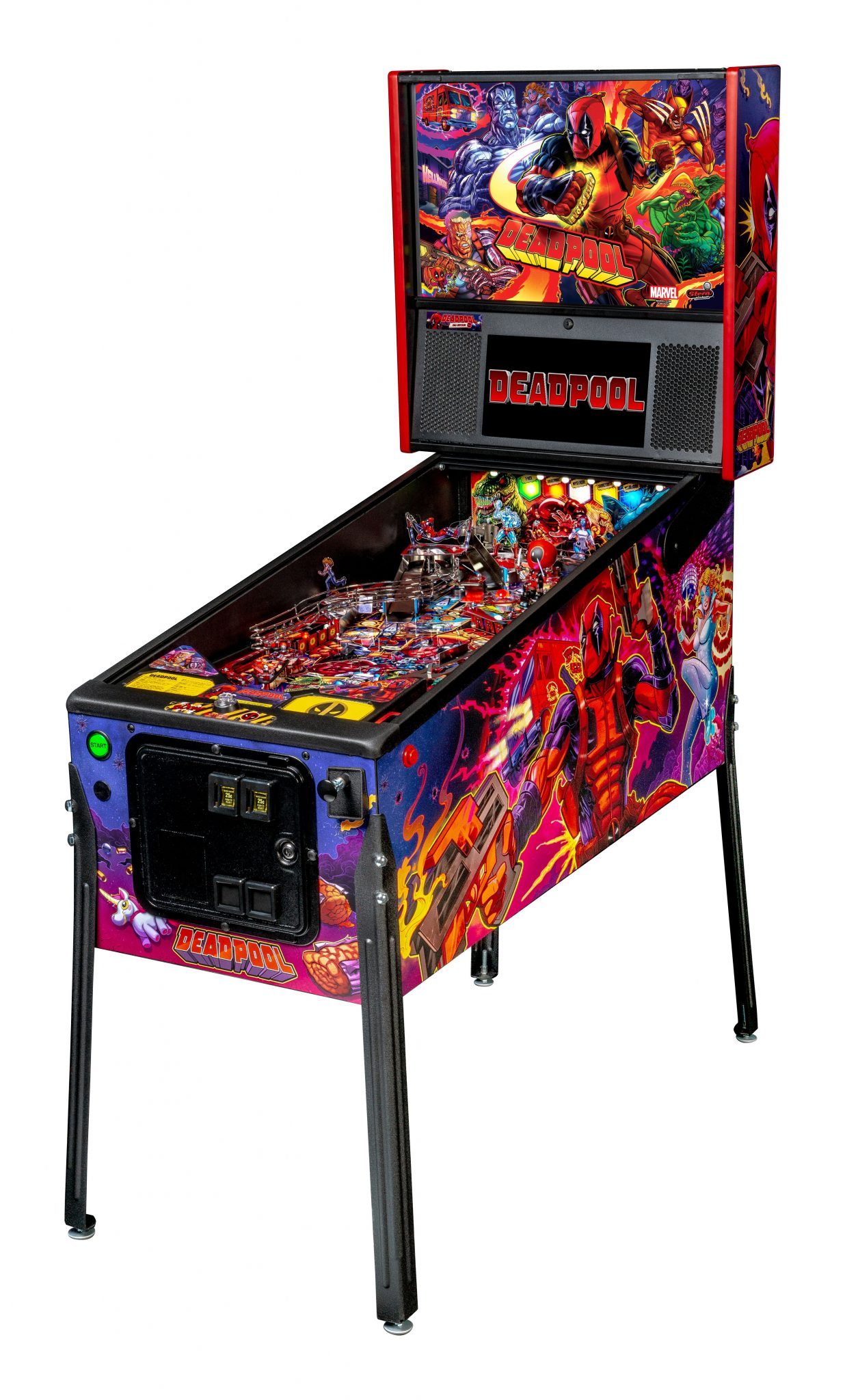 Deadpool Pro - Stern Pinball Machine