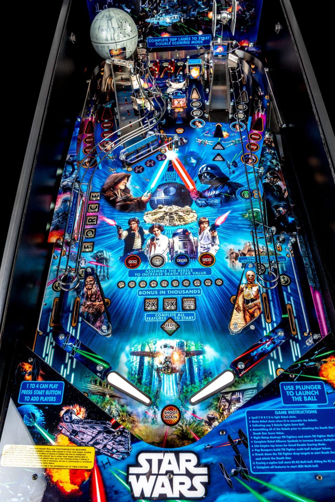 Star Wars Pin Stern Home Edition Pinball Machine